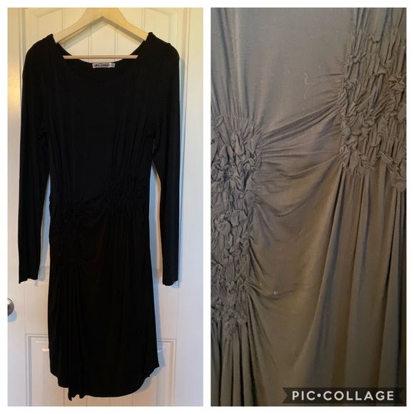 My Tribe Dresses & Skirts - NWOT My Tribe black ruched jersey dress